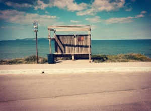 gouves crete bus stop